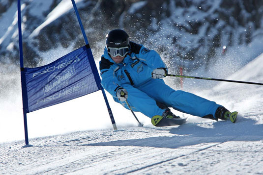 Ski Race Training in Kaprun